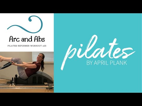 Pilates Arc and Abs Pilates Reformer Workout #25
