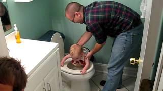 Little Ish's Toilet Adventure