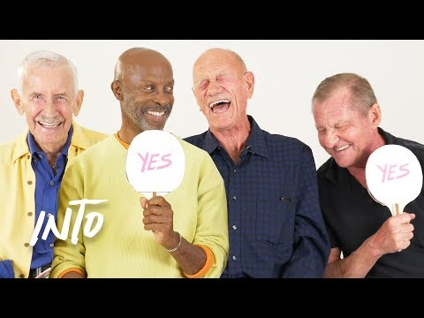 Old Gays Play Never Have I Ever