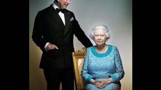NEW Photograph Of The Queen & Prince Charles Released, To Mark The Queens 90th Birthday