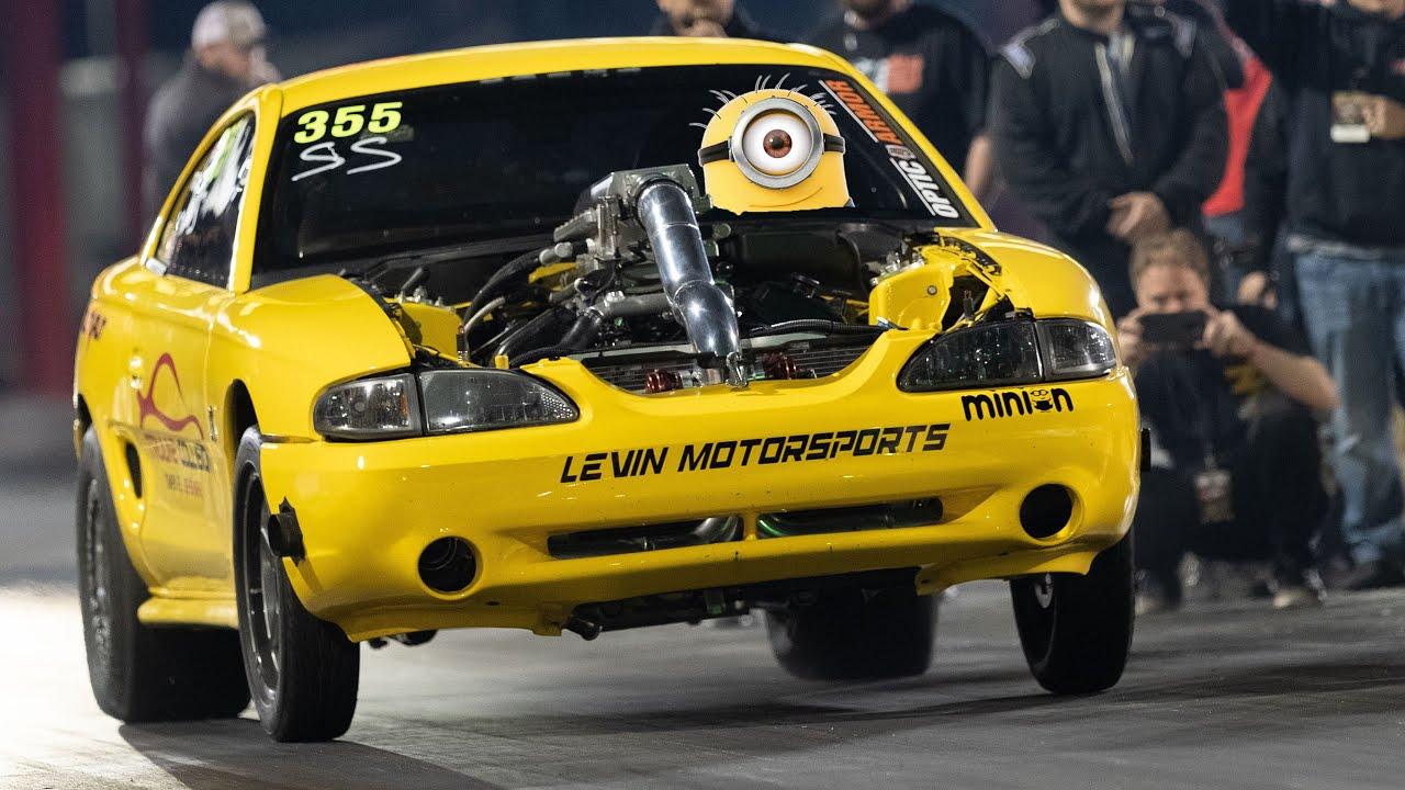 Schnellstes RWD Stick Shift Car der Welt! (Minion Mustang) + video