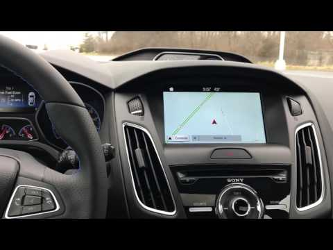 2017 Ford Focus RS Interior  by Alex Buker Indiana's Ford Expert Plainfield Indiana IN