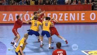 Гандбол Чемпионат Европы 2016 Россия - Швеция (Handball Euro 2016 Russia - Sweden)