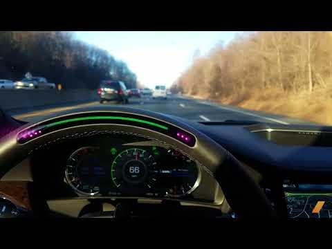 Cadillac Super Cruise Semi-Autonomous Quick Test