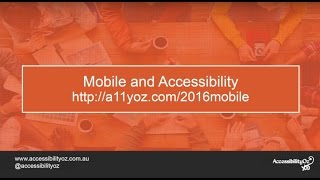 Mobile site accessibility: the good, the bad and the ugly