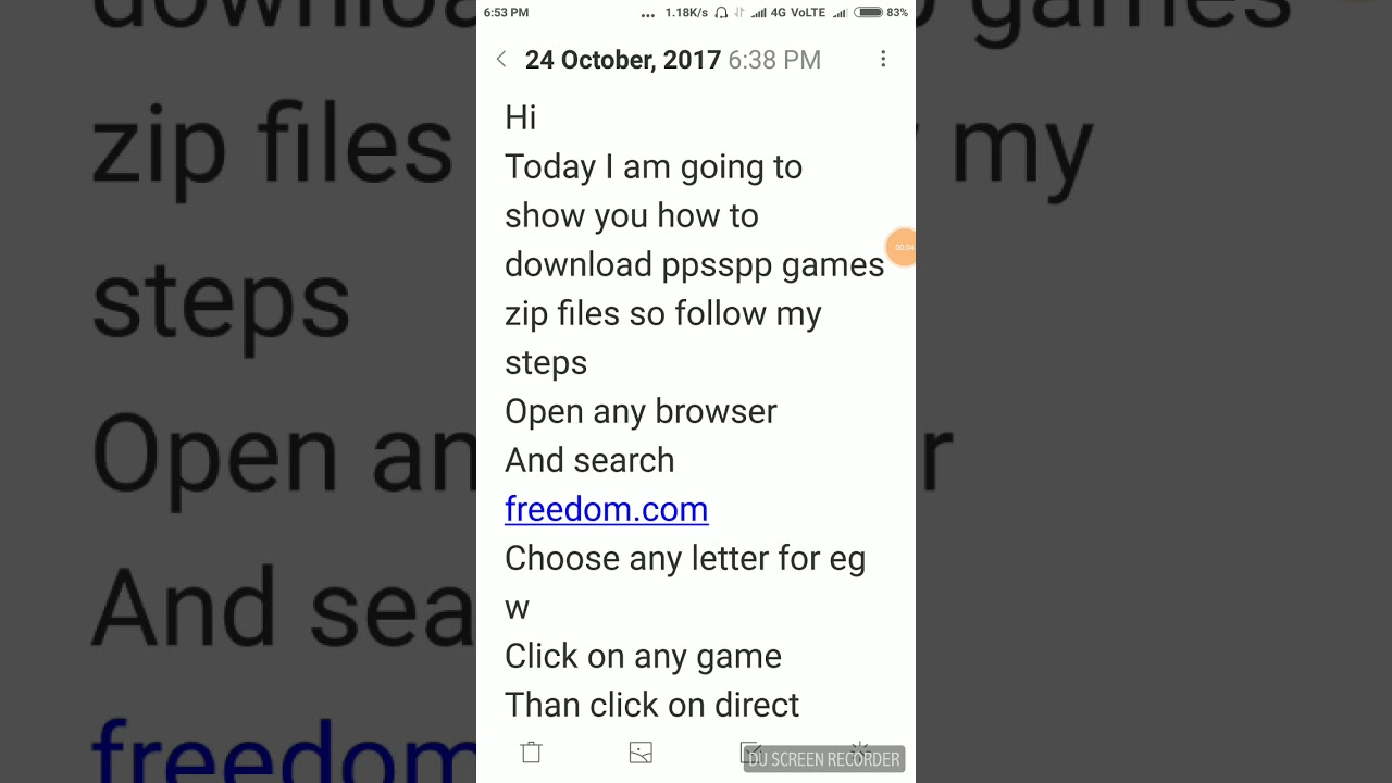 How to download ppsspp games zip files