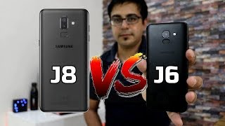 Samsung Galaxy J8 Vs J6 Comparison Overview I Should You Wait for J8  I Hindi