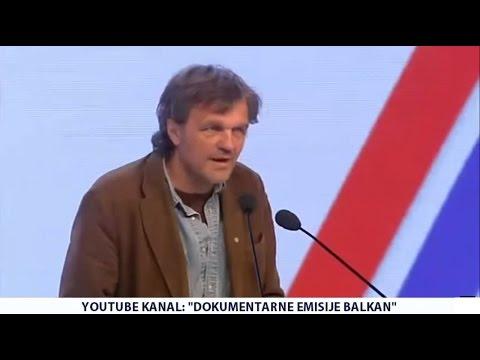 Emir Kusturica - Kosovo je najveće poglavlje političke pljačke novije istorije Evrope! (17.10.2015)