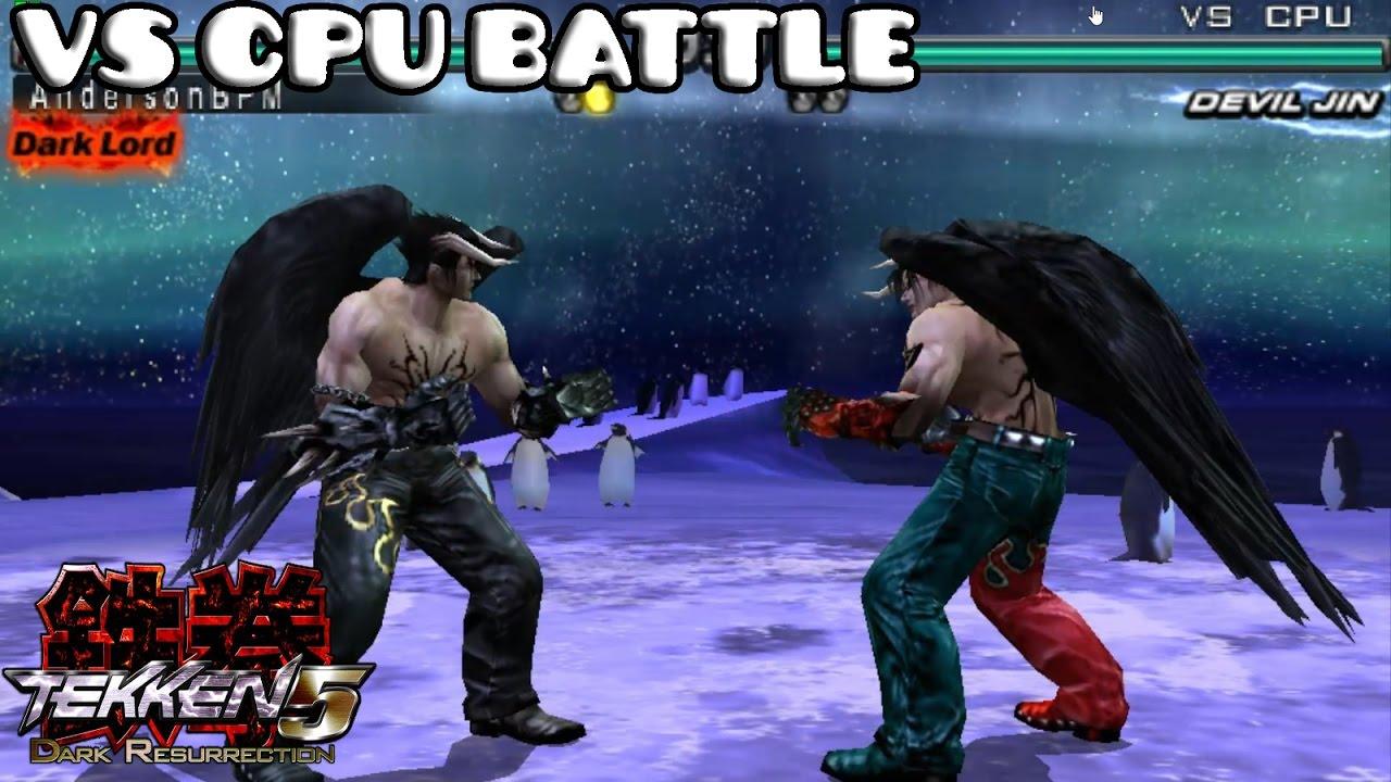 Tekken 5 Dark Resurrection Devil Jin Vs Cpu Battle Djandersonbpm