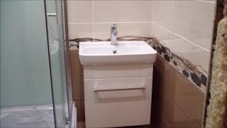Ремонт для Бабули!Ремонт ванной комнаты с душевой кабиной!Плитка Уралкерамика!Резать без плиткореза