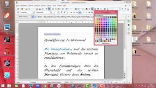 OpenOffice .org Kopfzeile und Fußzeile einfügen und bearbeiten