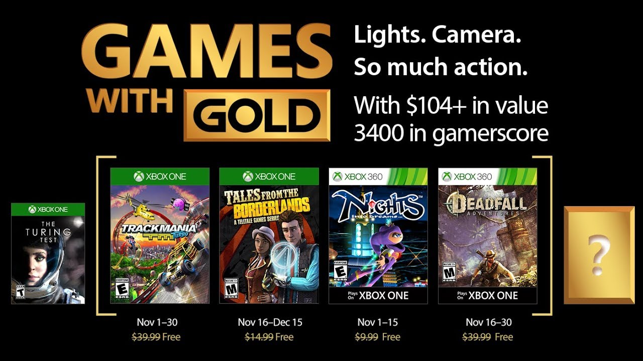 games with gold november 2017 kostenlose xbox one xbox. Black Bedroom Furniture Sets. Home Design Ideas