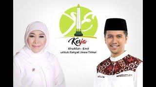 Guyup Rukun - Lagu Kampanye Tandingan Bu Khofifah untuk Gus Ipul