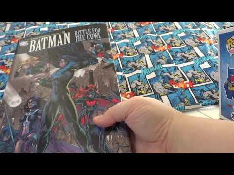 Batman Battle For The Cowl And Haunted Knight