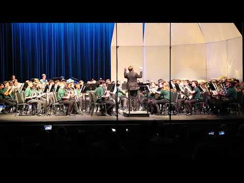 2019 Glenridge Middle School Band: U.S. Field Artillery March, John Philip Sousa