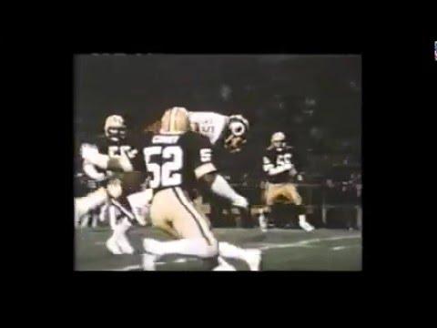 Redskins vs. Packers 1983 Monday Night Football
