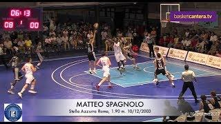 Download Video Highilights MATTEO SPAGNOLO (´03). Stella Azzurra Roma 1.90 m. Torneo U16 Orotava (BasketCantera.TV) MP3 3GP MP4