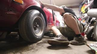 rad install fail -- driveshaft install instead
