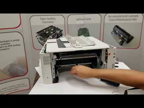 How To Remove and Install The HP M402 M403 M426 M427 Fuser and Maintenance Kit RM2-5399-Kit