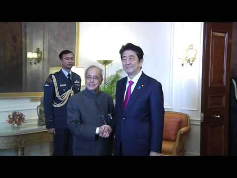 Prime Minister of Japan call on the President - 12-12-2015