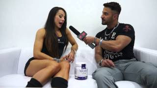 Are you ready to make a change - Nathalia Melo - interview FIBO POWER 2015