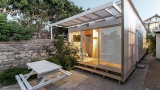 30 Sqm Rectangular Tiny House Design With Low-cost Construction