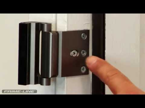 How To: Install Prime-Line's High Security Door Lock