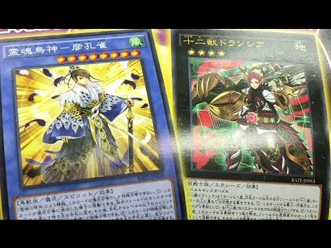 RATE - First look at the Juunishishi archetype (XYZ based ?) and new Full Shaddoll Aion trap