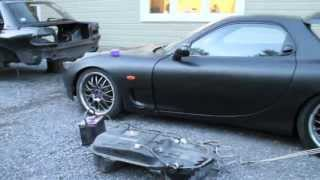 RX-7 The Project Part 2 Filling the gas tank