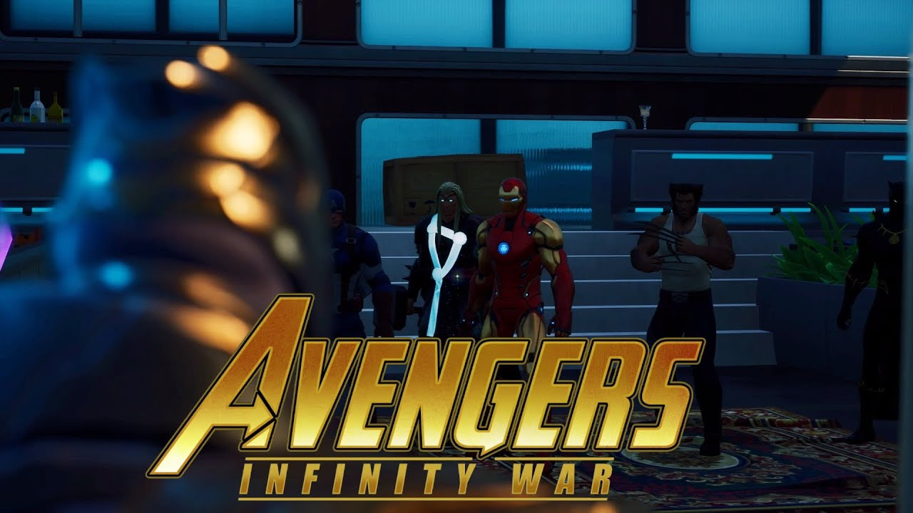 Download Fortnite Roleplay AVENGERS INFINITY WAR #2 ( THANOS IS HERE ) ( A Fortnite Movie  )