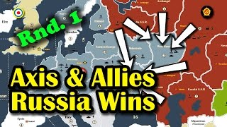 Axis & Allies Strategy - Russia Rnd. 1