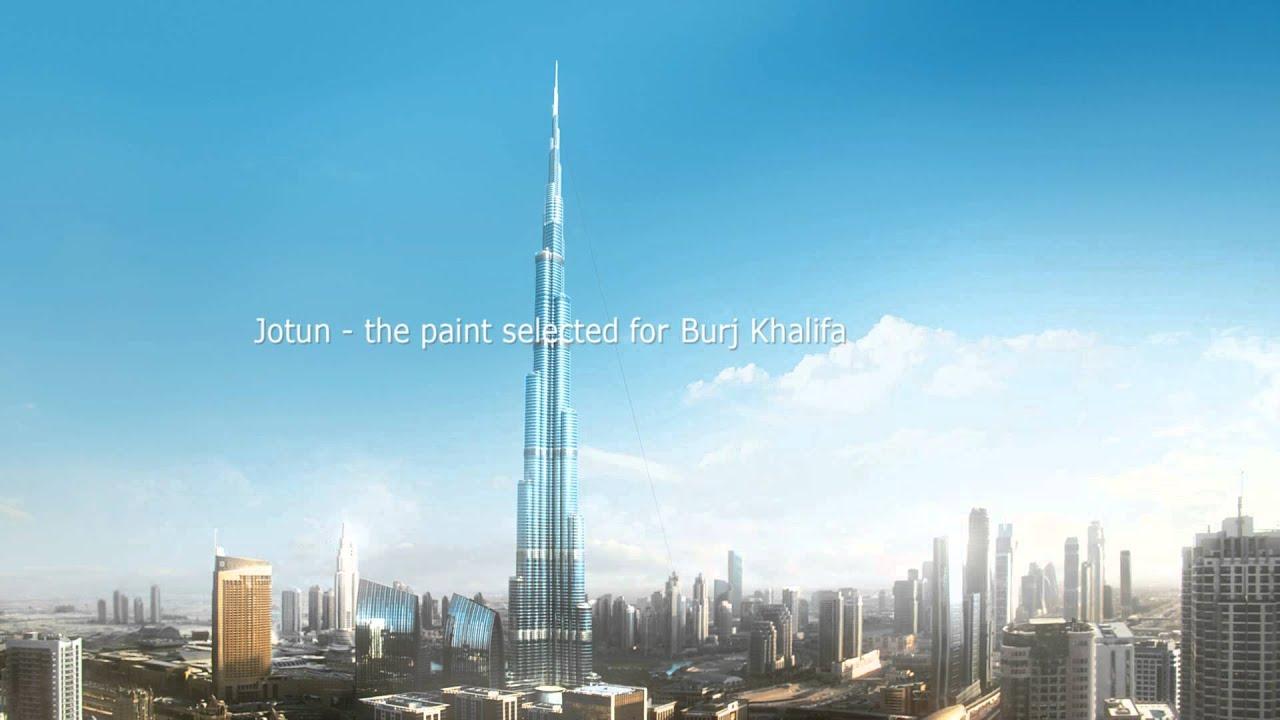 Burj khalifa jotun