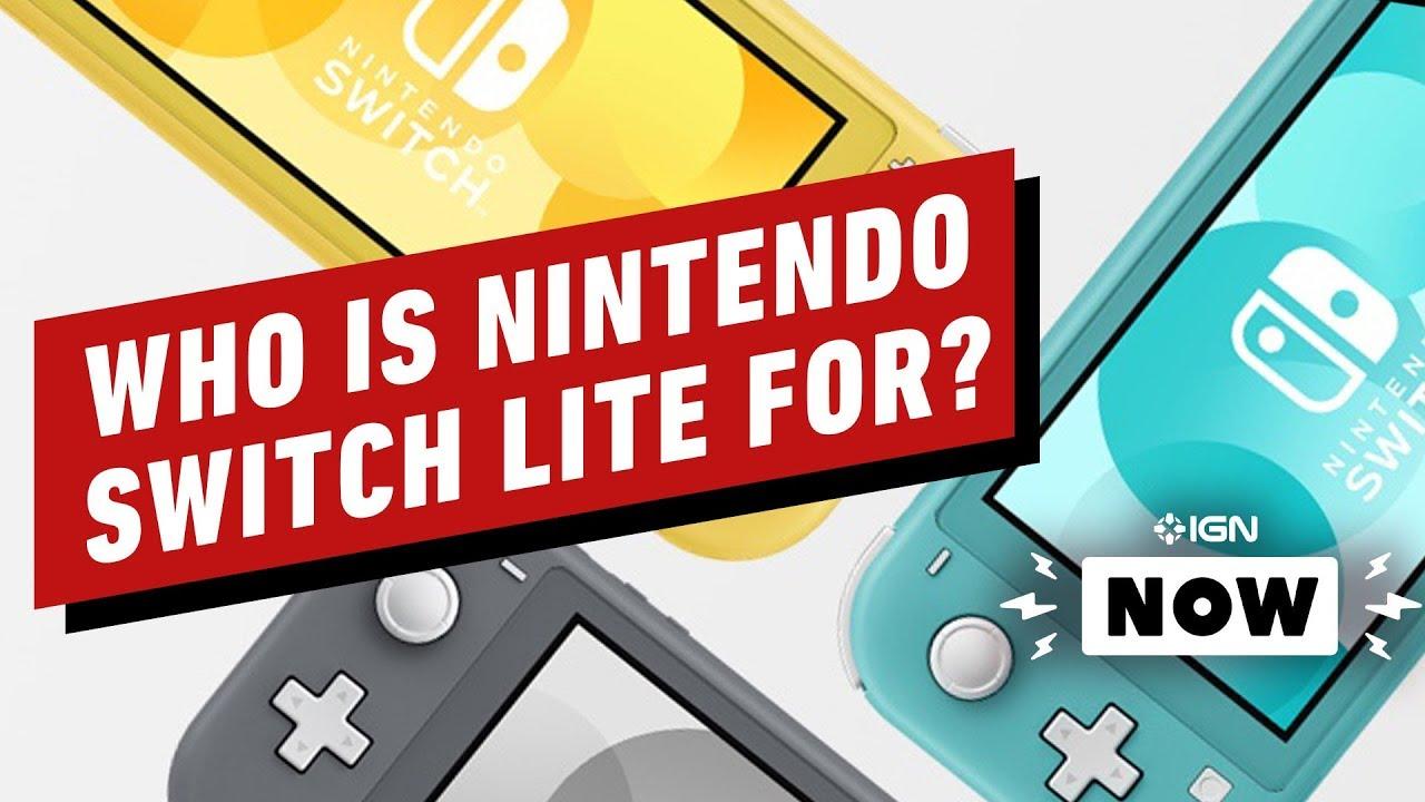 Für wen ist Nintendo Switch Lite gedacht? - IGN jetzt + video