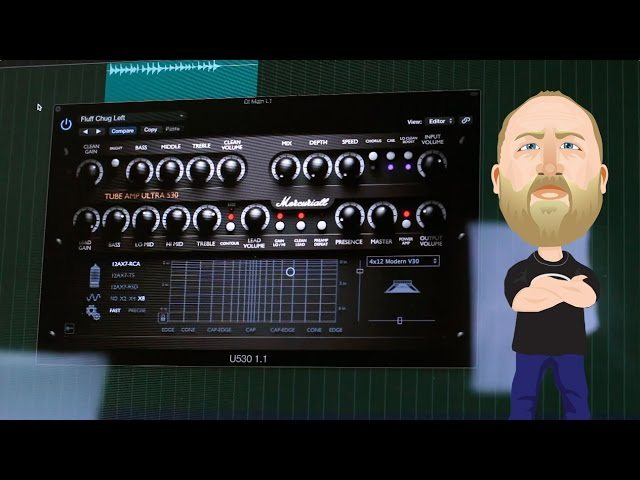 Mercuriall U530 Guitar Plugin - Demo