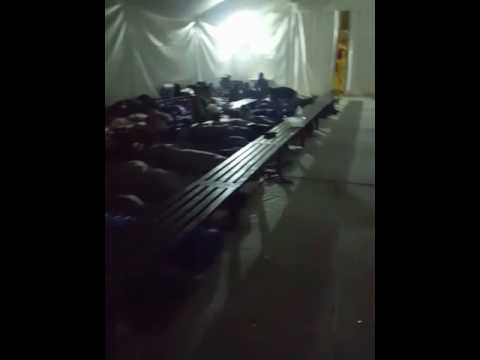 Dans le camp de Moria à Lesbos