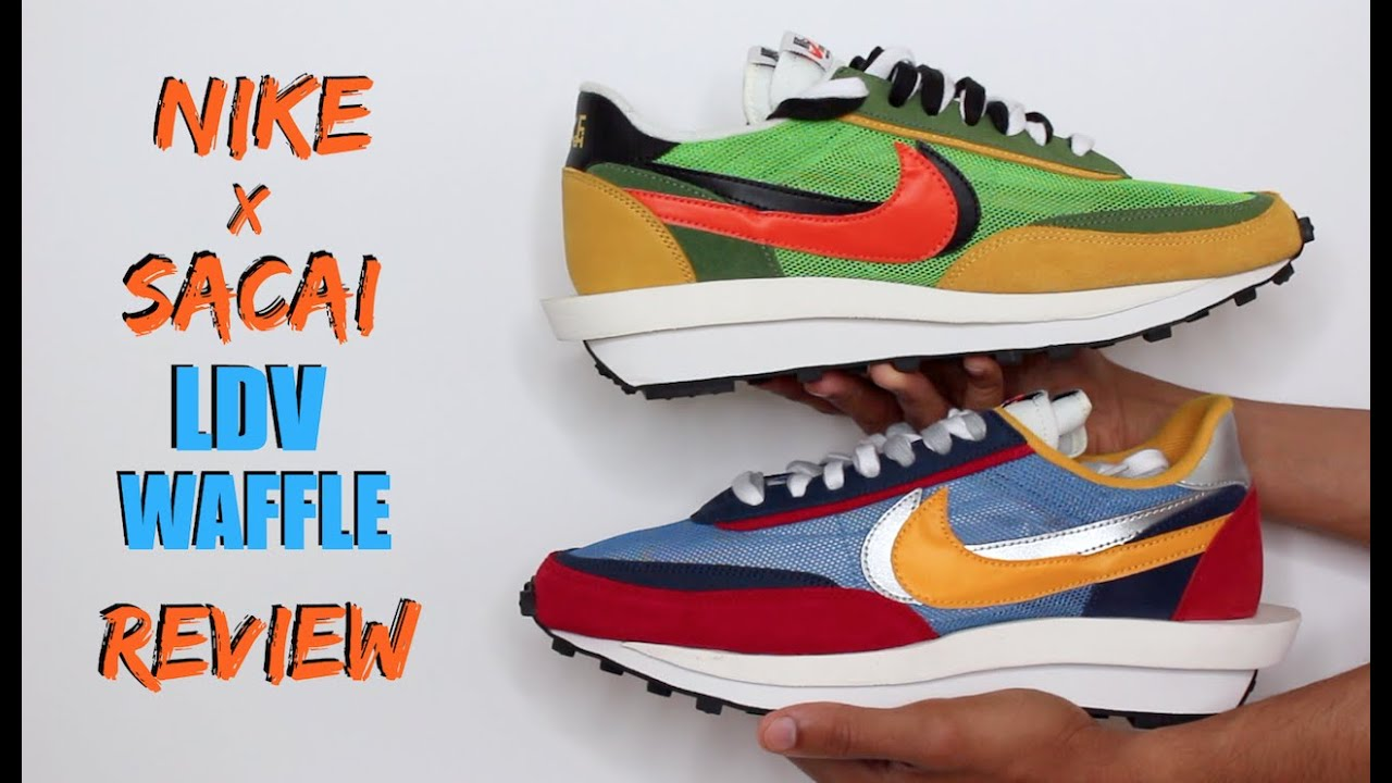 best service a087f bac23 SACAI NIKE LDV WAFFLE..BOTH COLORWAYS.. SNEAKER OF THE YEAR  (REVIEW + ON  FEET)