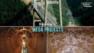 Xinjiang's mega projects| CCTV…