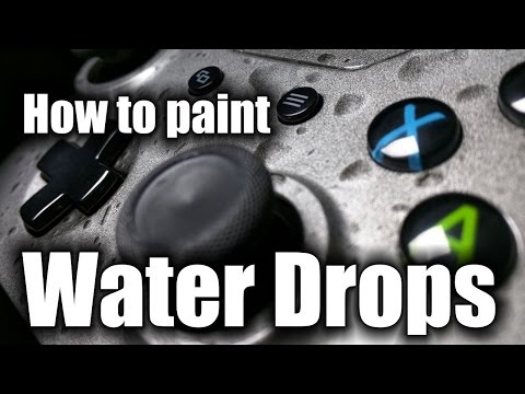 Water Drop Effect - XBOX One Controller - HD - Easy DIY & How To