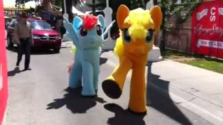 My Little Pony & Chuck the Dump Truck Arrive at the Calgary Stampede | July 6 - 15, 2012