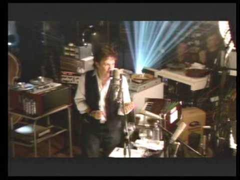 ポールマッカートニー 公開レコーディング風景