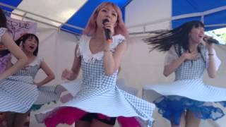 六本木発のアイドル「Ange」の代々木公園での野外ライブの模様。 曲はAn...
