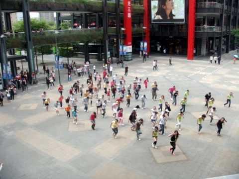 20100417 BSB Flashmob In Taiwan~Straight Through My Heart