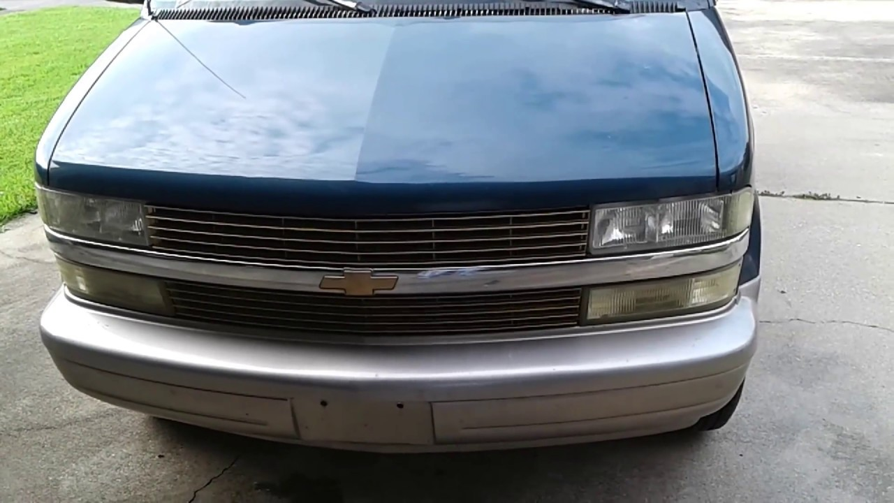 All Chevy 2003 chevy astro how to pull a part paint install front Grille gold color on chevy ...