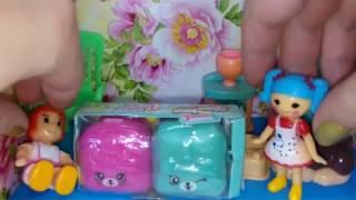 Шопкинс в рюкзаках 5 сезон розпакування Мультик з іграшками