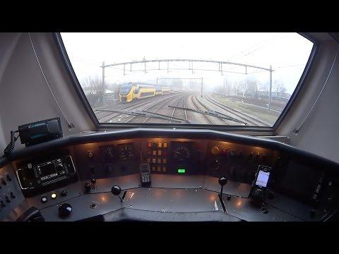Train Driver's POV virm Amsterdam - Alkmaar 2016