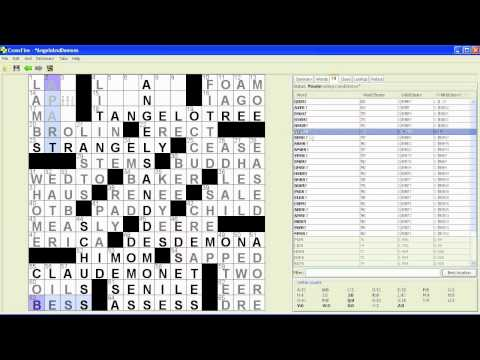 How to make a crossword for the New York Times