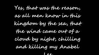 Anabel Lee - Read by Matthew Gray Gubler