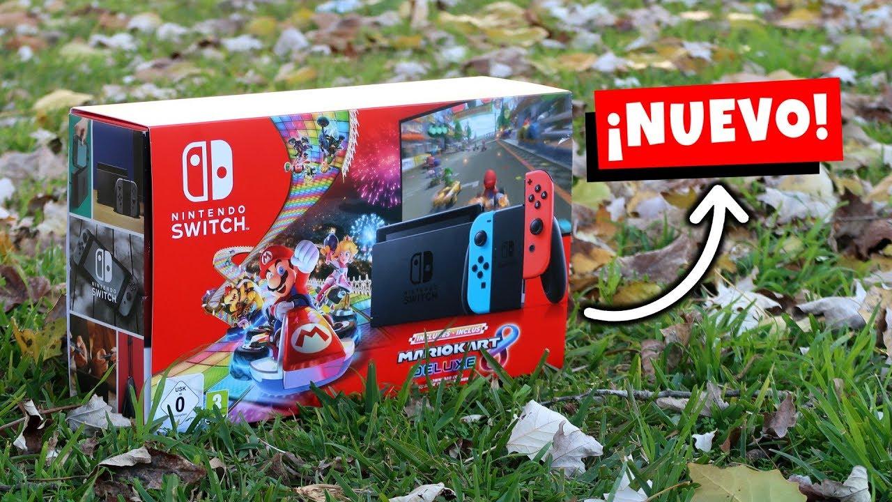 este es el NUEVO PACK Nintendo SWITCH 2019 edición MARIO KART 8 Deluxe para NAVIDAD ? UNBOXING