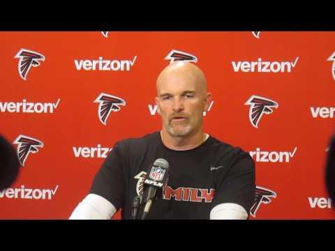 Gridiron Blitz: Atlanta Falcons' head coach Dan Quinn presser 10.31.16
