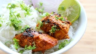 Tandoori Chicken Recipe For Weight Loss - Tandoori Chicken Without Oven/Microwave - Skinny Recipes